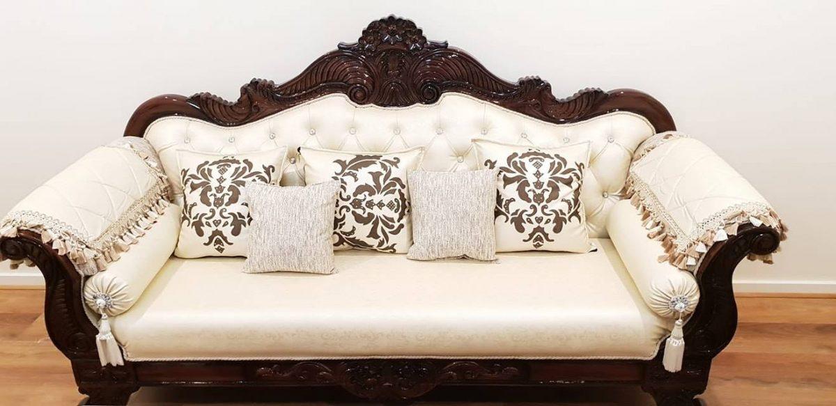 Best-white-brown-sofa