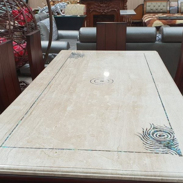 Marble-Top-Dinning-Table