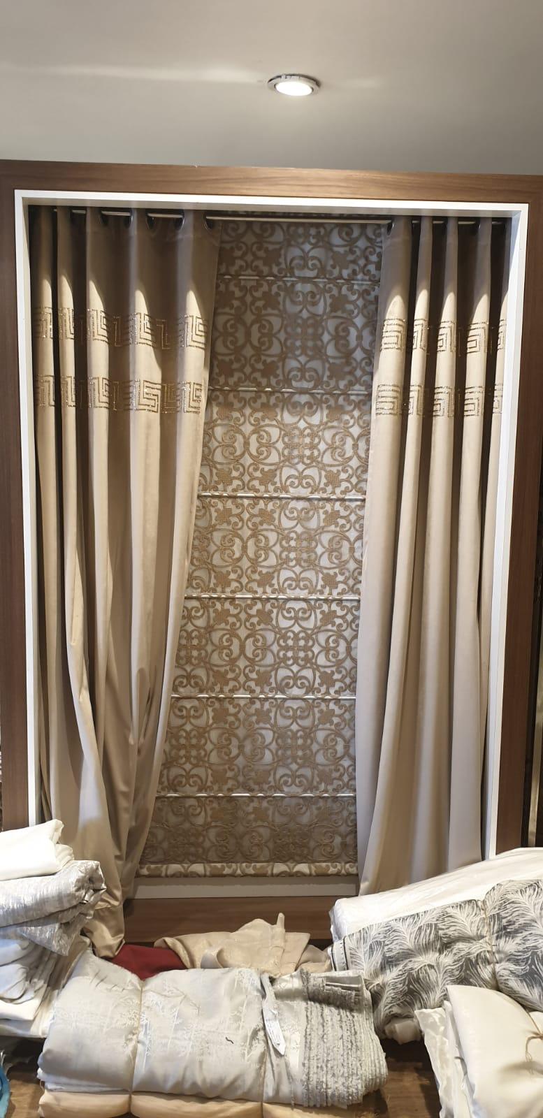New Designer cream color blinds