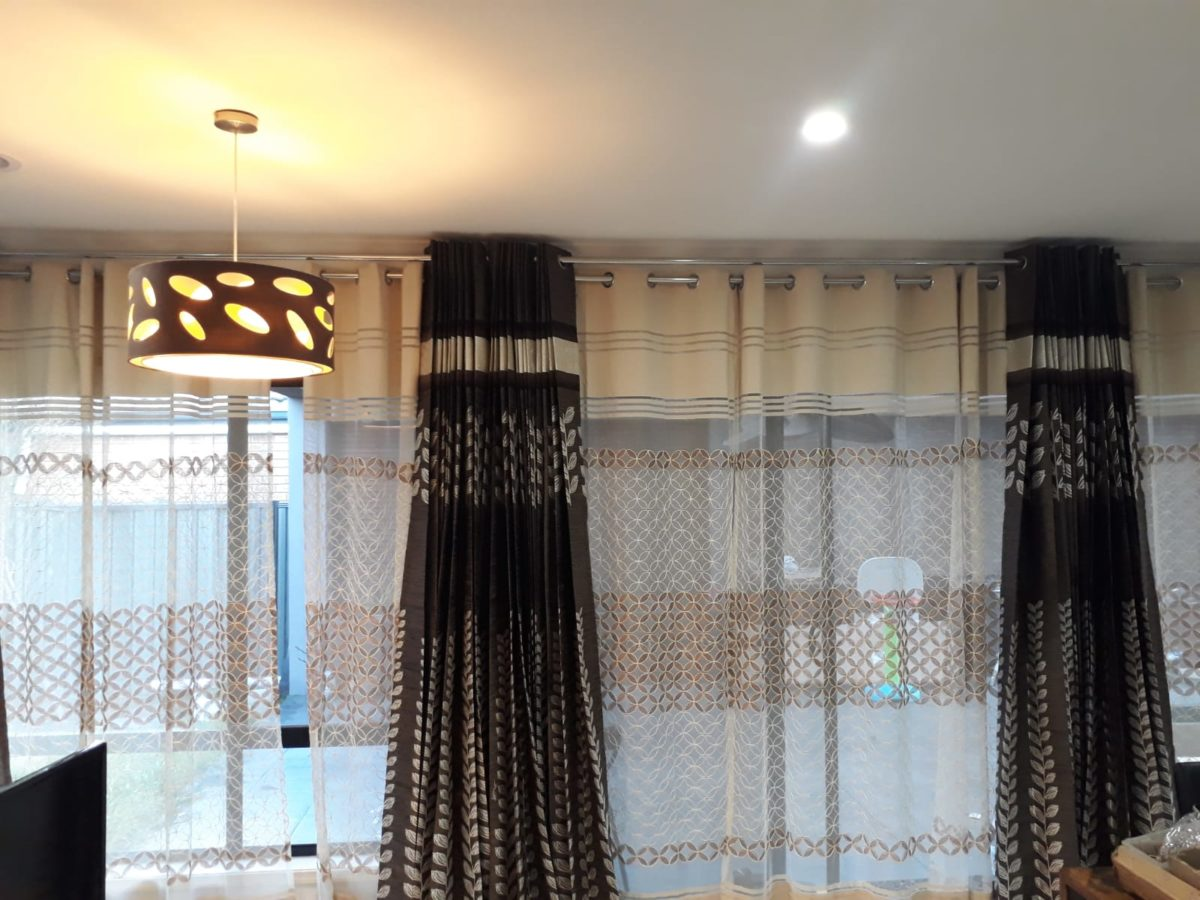 Beautiful White and Brown color blinds