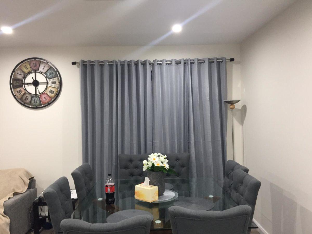 Combination of Sofa set plus Blinds