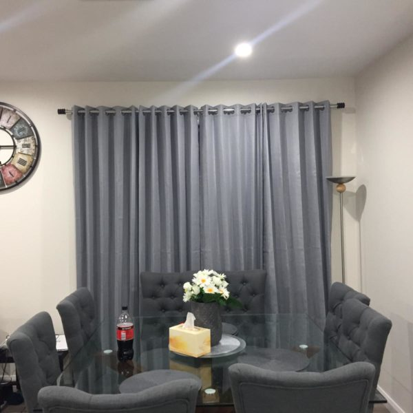 Combination of Sofa set plus Blinds