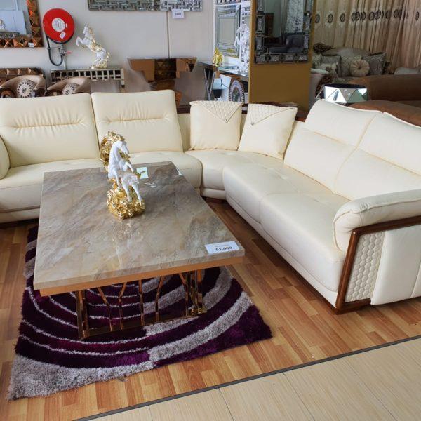Classy Cream Sofa Set