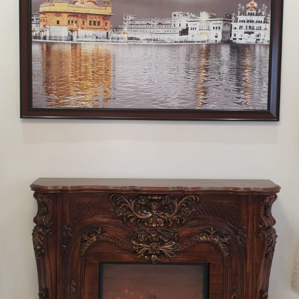 Golden Temple Wall Hanging Scenery